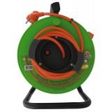Enrouleur de jardin Dhome - H05 VV-F 3G 1,5 mm² - Longueur 40 m
