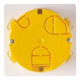 Boîte à encastrer ronde pour mur creux Legrand - Diamètre 65 mm