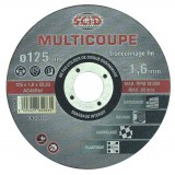 Disque multicoupe SCID - Diamètre 125 mm