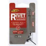 Rivet aveugle aluminium / acier tête plate étanche Fix'Pro - Diamètre 4,8 mm - Diamètre 4,8 mm - Vendu par 40