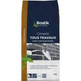 Ciment tous travaux Bostik - Blanc - Sac 5 kg