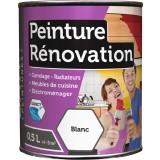 Peinture rénovation multi-surfaces Batir - Boîte 0,5 l - Blanc