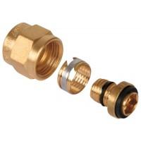 Raccords PER à compression Gripp - PER 16 mm sur raccord 15 x 21 mm - Vendu par 1