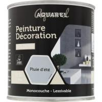 Peinture décoration intérieure velours Aquarel - 0,5 l - Pluie d'été