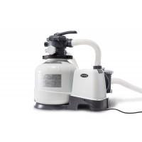 Filtre à sable Intex - Débit du système 8 m3/h - Puissance 0.60 cv