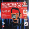 Projecteur LED de chantier rechargeable batterie amovible Dhome - 900 lm