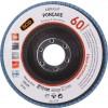 Disque à lamelles zirconium standard SCID - Grain 60 - Diamètre 115 mm - Vendu par 1
